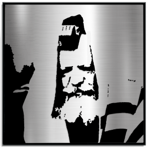 The Lubavitcher Rebbe with Tefillin Portrait