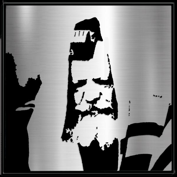 lubavitche rebbe with teffilin portrait