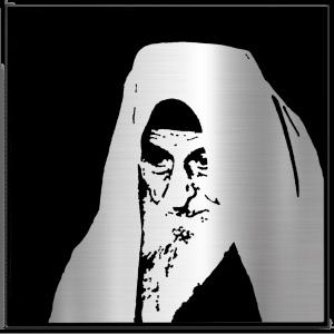 Chacham Yitzchak Kaduri Metal Portrait