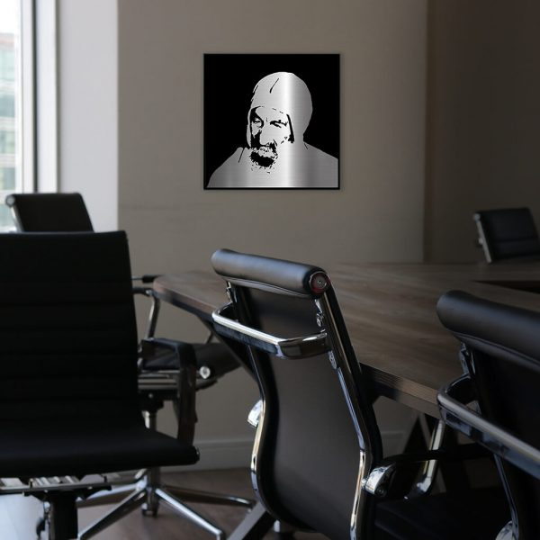 Baba Sali Sidna metal portrai