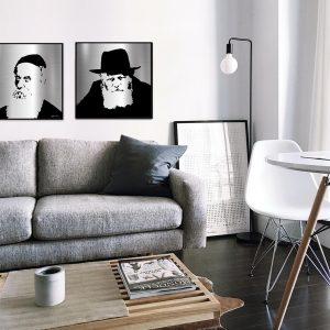 Lubavitcher rebbe portraits collection