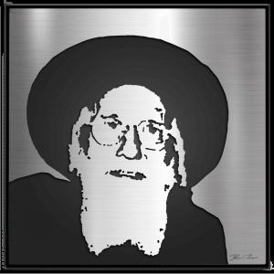Rav Shlomo Halbershtam – Bobov Rebbe – Metal Portrait